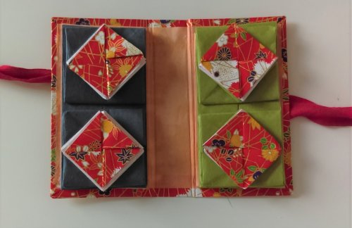 Red Thread book open