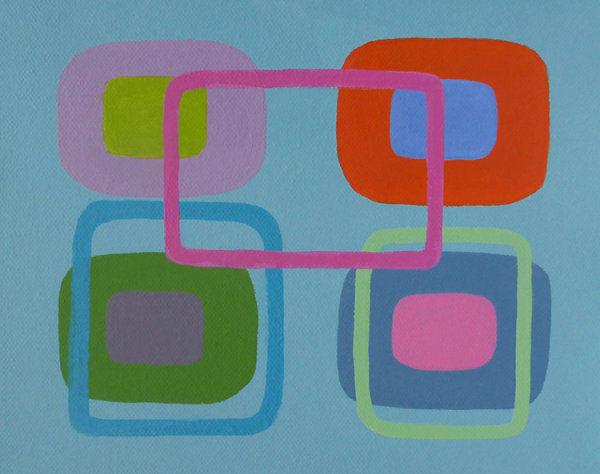 Generation A<br>acrylic on canvas<br>20 x 26 cms<br>2017