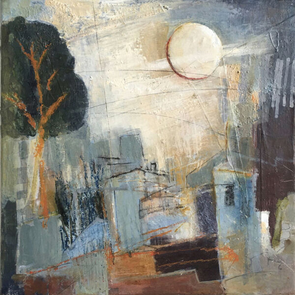 Wolf Moon Over Norwich SOLD