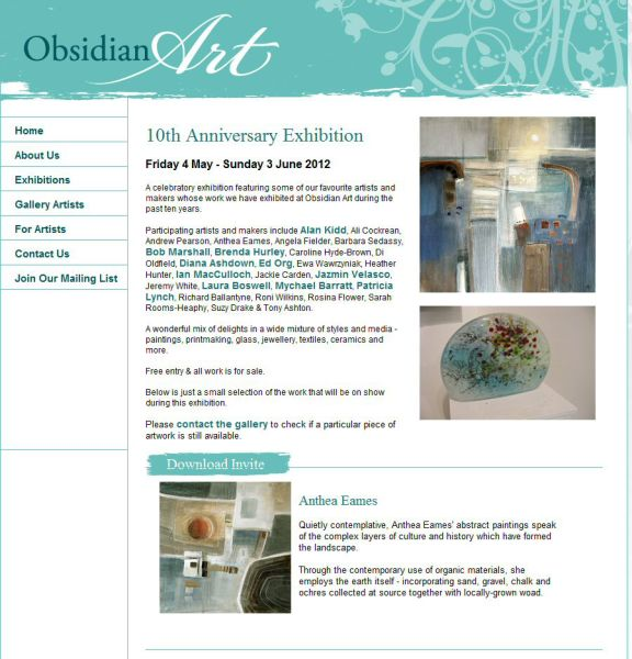 Obsidian Art 10th Anniversary Exhibition