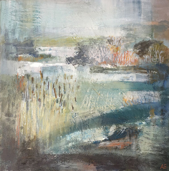 Rain on the Marsh selected for Black Barn Contemporary, Cockley Cley see Exhibitions