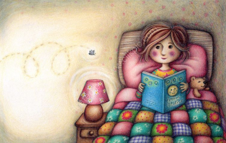 Anna in Bed (Mothmum)