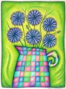 Jug of Cornflowers