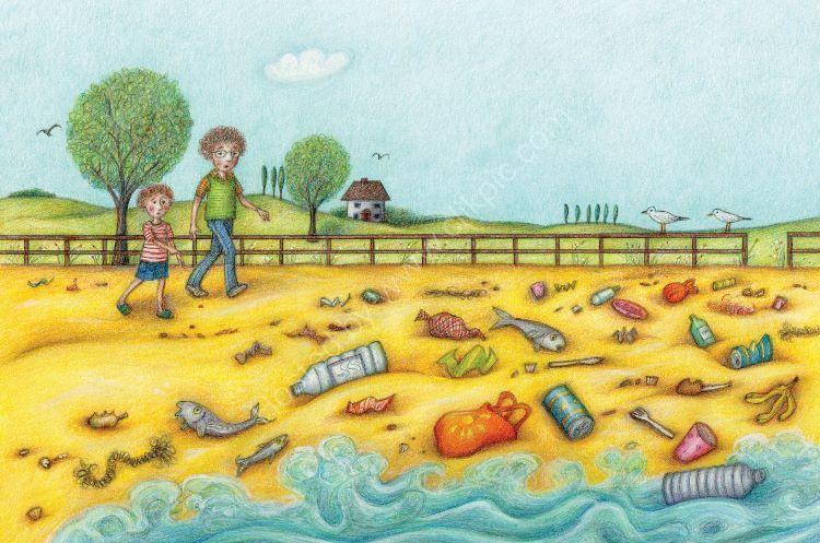 Let Us Clean the Beach colour (2012)