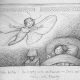 Mothmum visit sketch