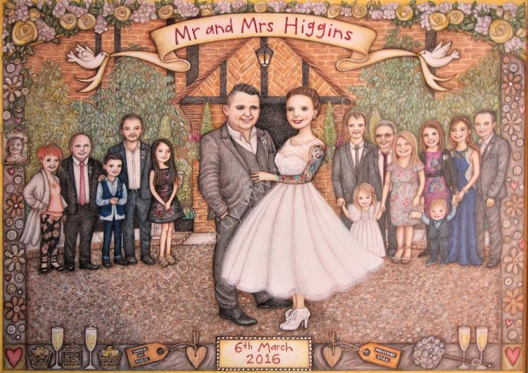 Mr and Mrs Higgins.  Owned by Bryn and Sadie Higgins.