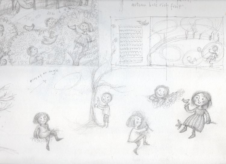 Sketches for The Selfish Giant