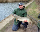 14lb lure caught pike