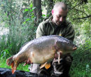 28lb 3oz mirror Damian (woody) Wood