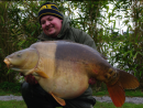 Chris Holland with Jonah 61lb 8oz