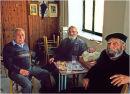 Three men in a kafenion