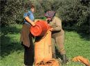 Bagging olives
