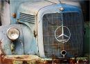 Old Mercedes truck
