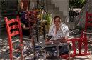 Gypsies repairing chairs