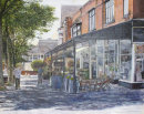 Birkdale Parade. Acrylic Painting. Prints Only Available