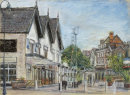 Birkdale Village Pastel. £150 (Prints available)