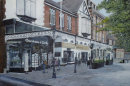 Birkdale Village. Oil Painting. £575