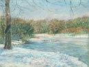 Winter Blues: Hollow Ponds, Frozen
