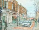 Church Lane, Leytonstone pastel