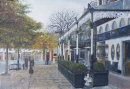 Birkdale Village. Oil painting. £375  (Prints available)