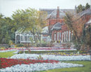 Botanic Gardens, Churchtown, Southport. Oil Painting. Prints Only Available