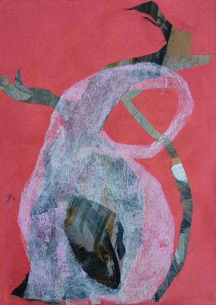 "Baobab Letter ""B"" (Collage)"