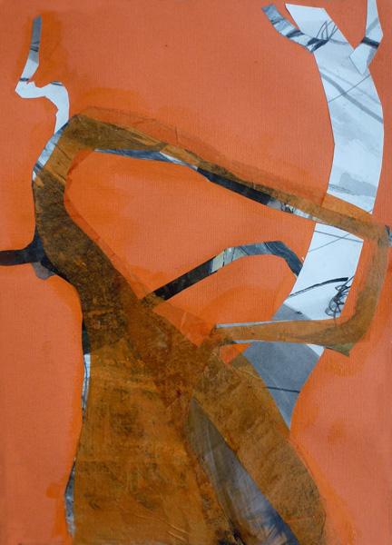 "Baobab Letter ""R"" (Collage)"