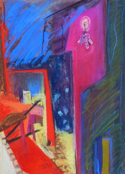 Cityscape IV (Pastel)