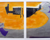 Porthleven Diptych I (Collage)