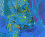 Seated Figure III
