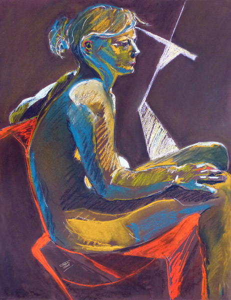 Seated Figure V
