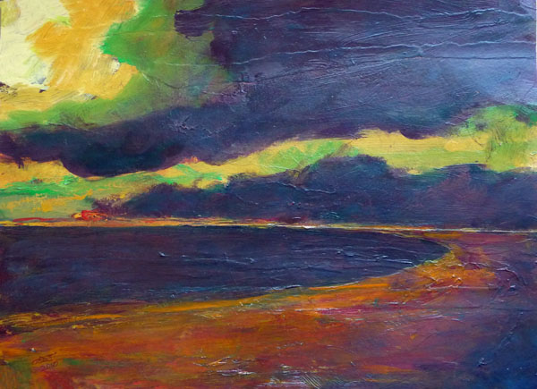 Study for Storm over West Wycombe II