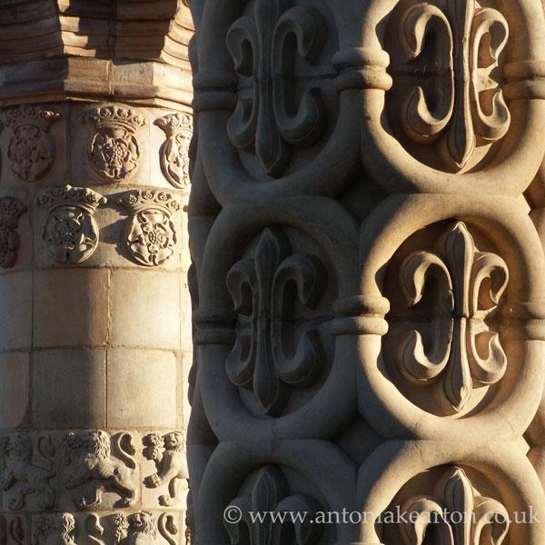 Coade Stone Pillars