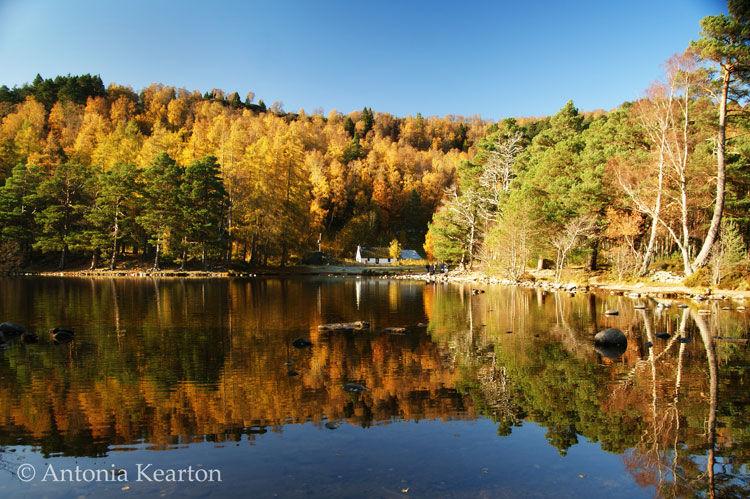 Loch an Eilein, Autumn
