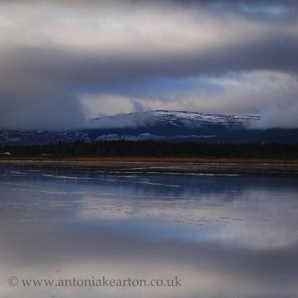 Loch Mallachie in Winter