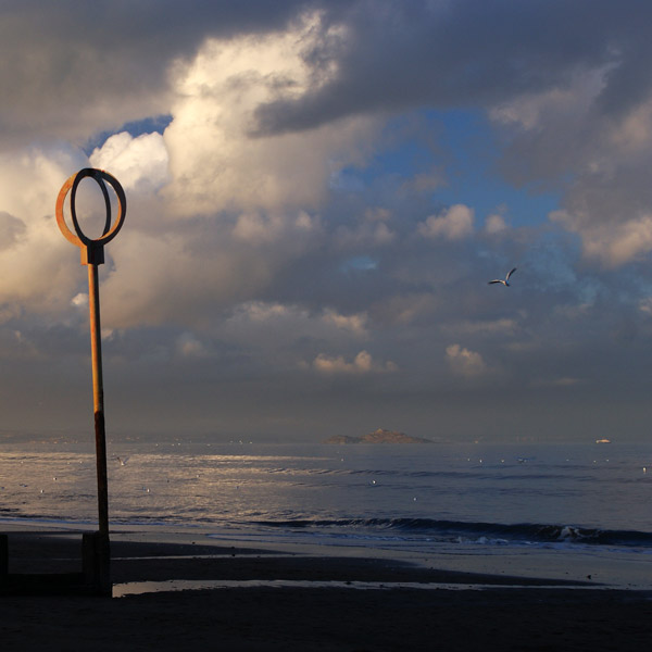 Portobello Beach and Inchkeith