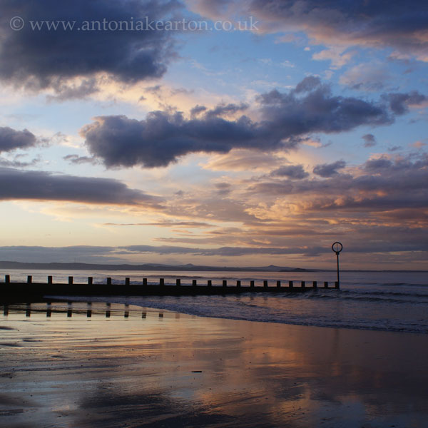 Twilight, Portobello Beach