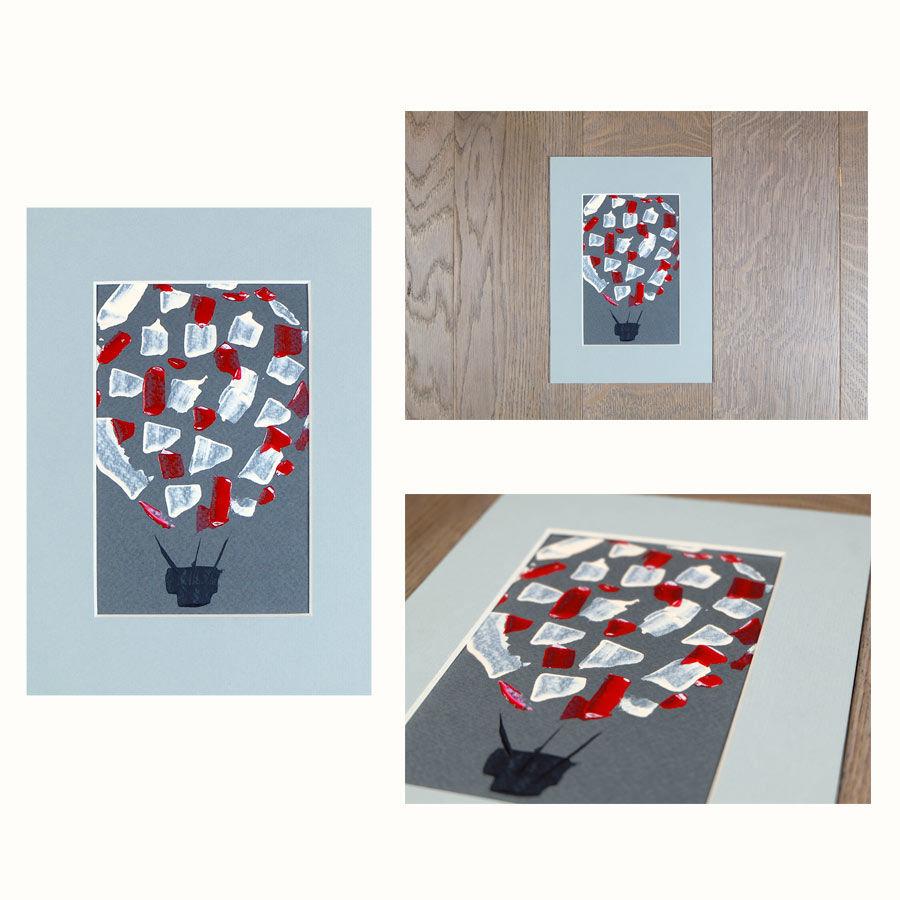 ballon painting
