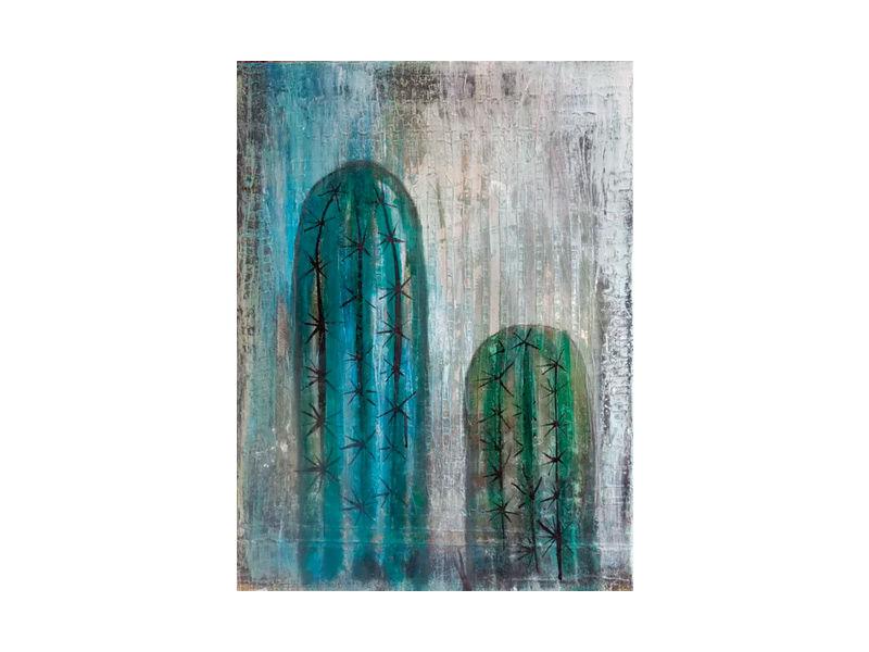 Cactus Two Cacti