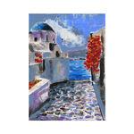 greece painting art mykonos