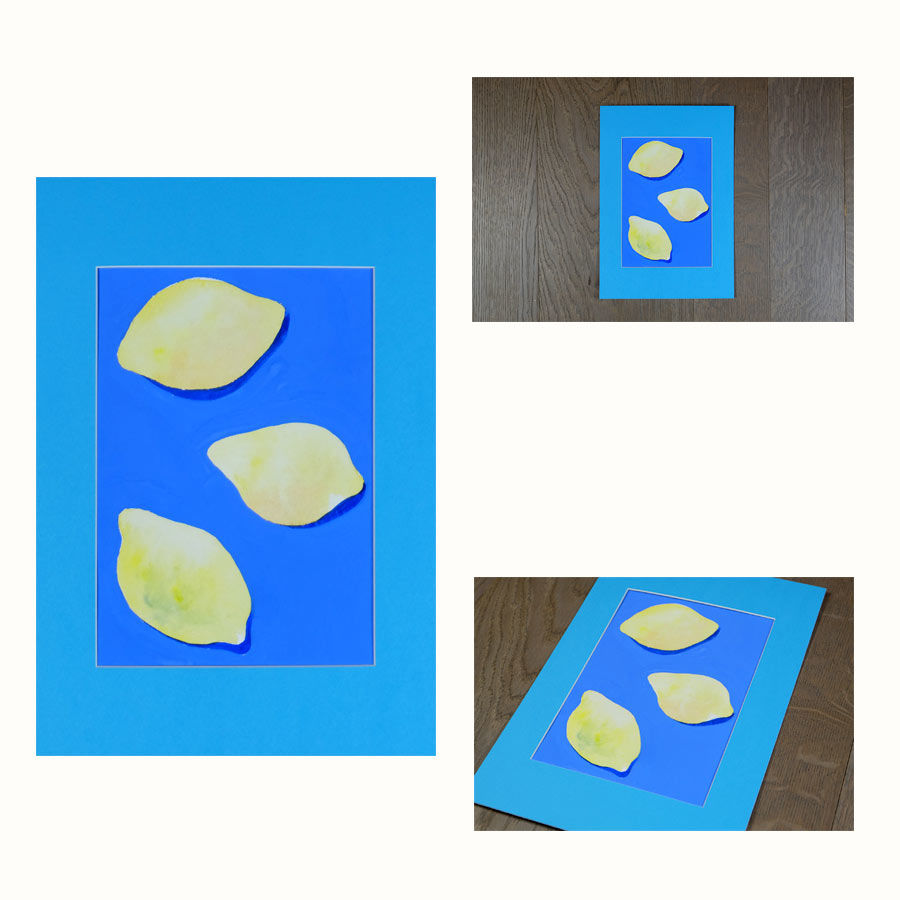 original lemons painting