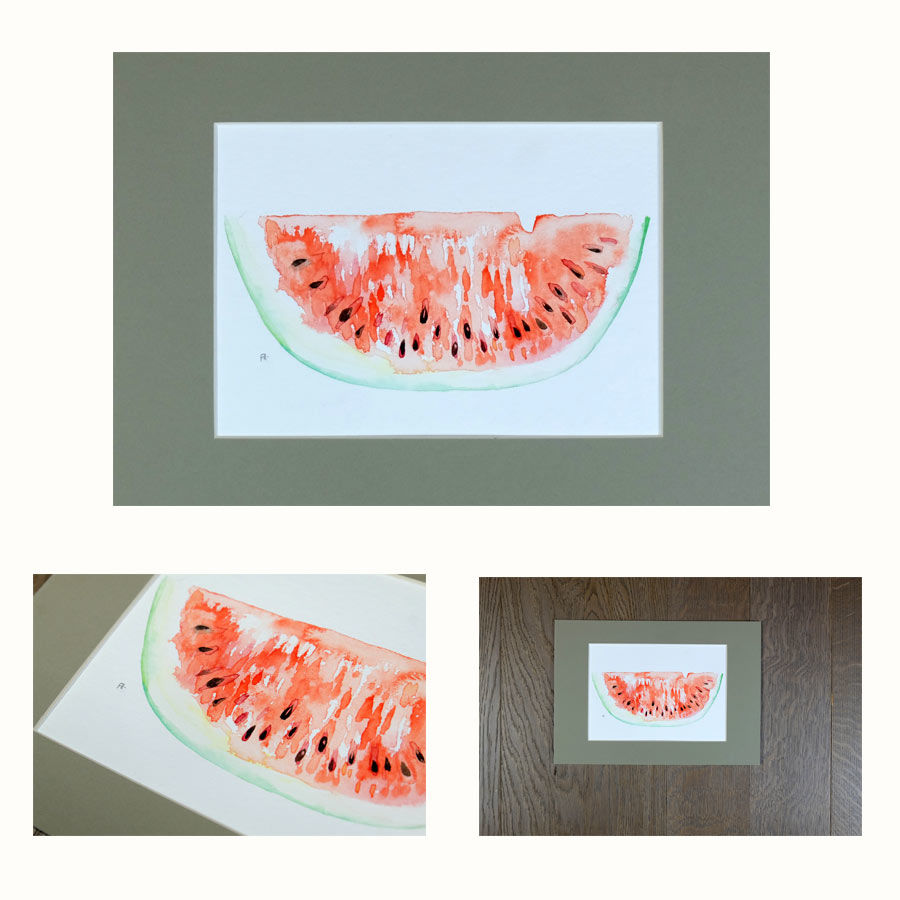 original watermelon painting