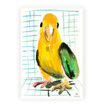 parrot-watercolor-painting