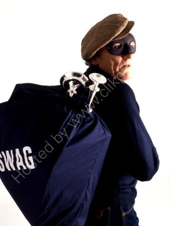 BURGLAR WITH SWAG BAG
