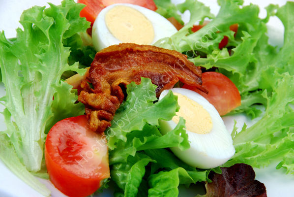 Bacon & egg salad