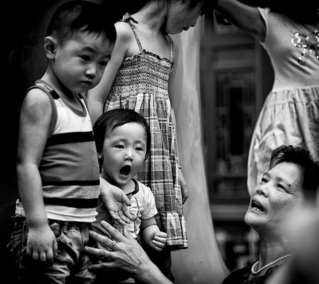 Children in Shanghai