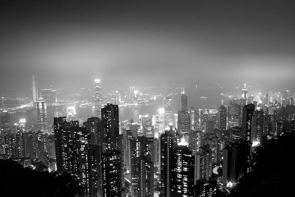 Hong Kong 2014-City Lights
