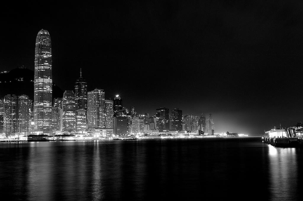 Hong Kong 2014-City Lights 2