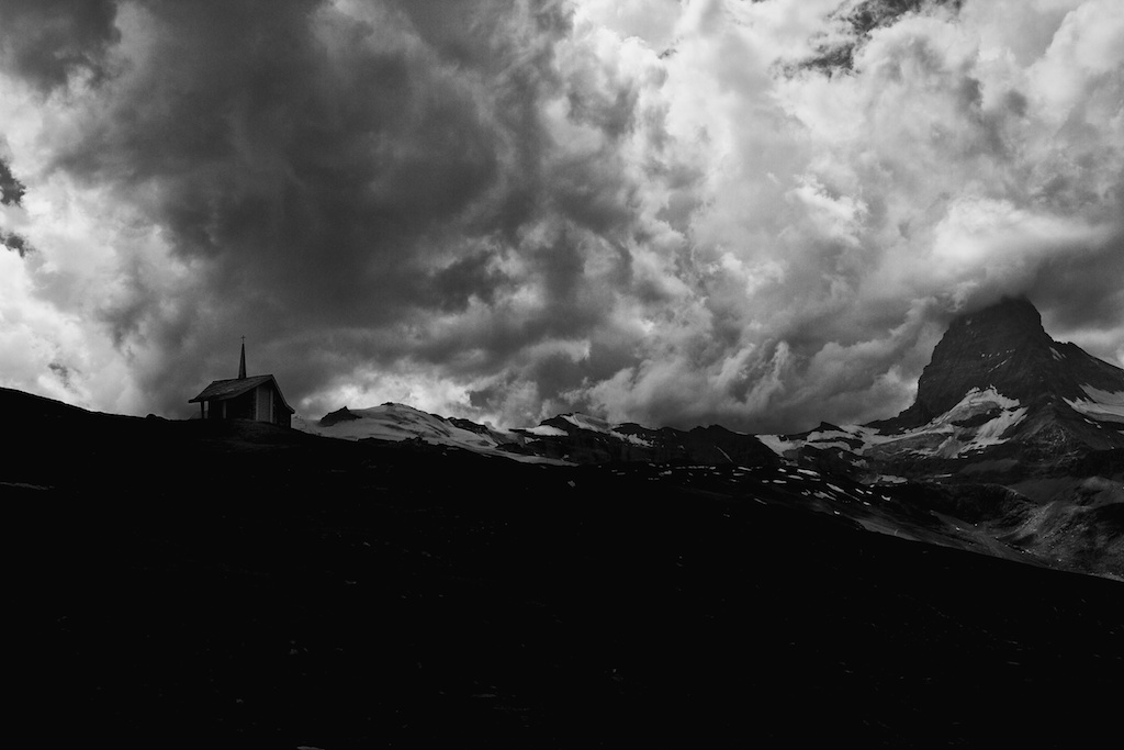 Matterhorn and chapel