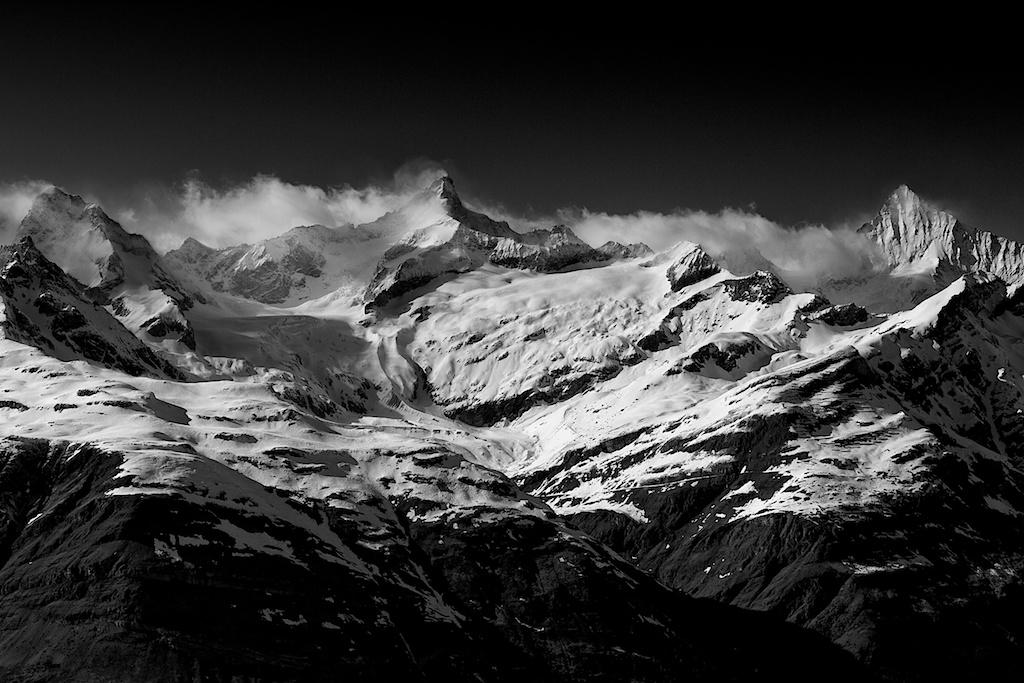 Mountains study 1-Breithorn